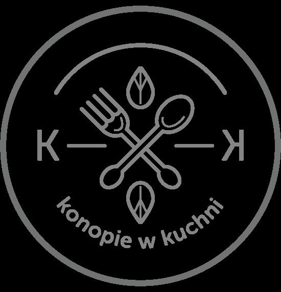 Konopie w kuchni - logo